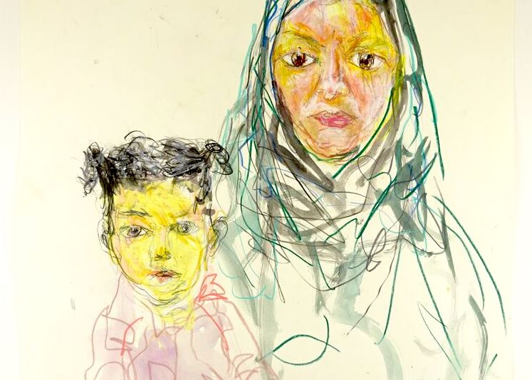 Guillaume Bruère -  Portraits of Refugees